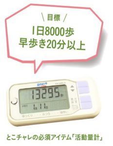 活動量計の画像