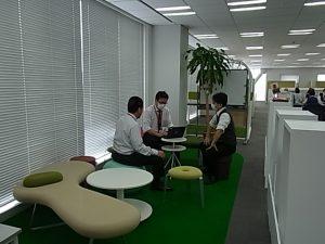健康を意識したオフィス2