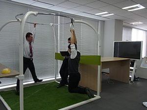 健康を意識したオフィス1